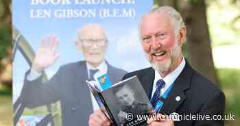 Prisoner of war veteran's book launches just days after his death, aged 101