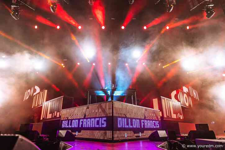 Dillon Francis Debuts Massive New IDs with Eptic & TV Noise at HARD Summer [WATCH]