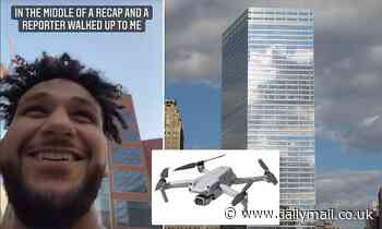 Tourist crashes $1,200 drone into 7 World Trade Center sparking response from counter terror cops