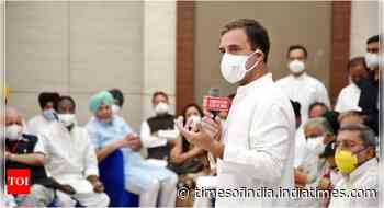 Members of 15 opposition parties show up at Rahul's breakfast meeting