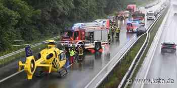A 31 bei Dorsten: Zwei Unfälle kurz nacheinander – 17 Menschen verletzt - Kölner Stadt-Anzeiger