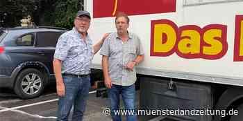 Friseur-Container aus Dorsten retten Existenzen in Hochwasser-Gebieten - Münsterland Zeitung