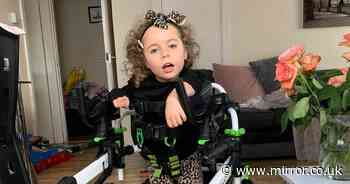 Girl unable to walk, talk or stand after mum caught virus while pregnant