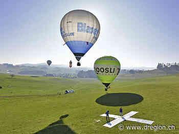 Affoltern i. E. wird zum Zentrum der Heissluftballonfreunde und -profis[11695] - D'Region