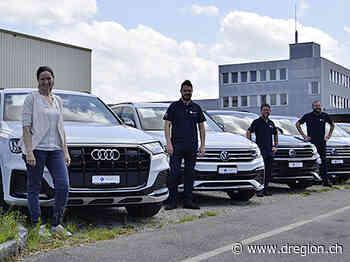 Die Garage-Gautschi-Occasionsfahrzeuge ziehen von Lyssach nach Burgdorf[11686] - D'Region