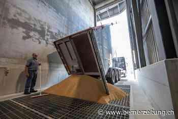 Futtermittelproduzent in Burgdorf – Wenn 27 Tonnen Weizen ins Silo rauschen - BZ Berner Zeitung
