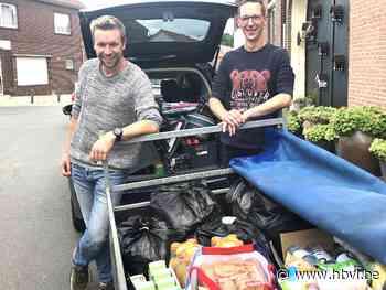 Succesvolle solidariteitsactie in Vroenhoven voor slachtoffers watersnood - Het Belang van Limburg
