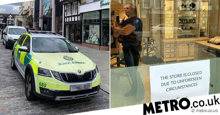 Boy, 5, dies after suffering head injury in 'accident' at department store