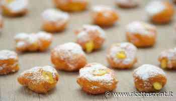 Bignè di patate con crema pasticcera | deliziosi e particolari - RicettaSprint
