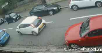 Driver does 31-point parallel park to get into parking space twice as big as car