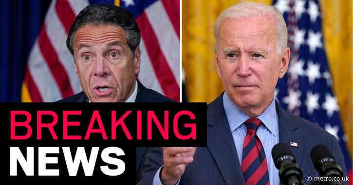 Joe Biden says Andrew Cuomo 'should resign' after report the governor sexually harassed 11 women