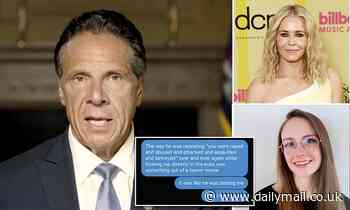 Cuomotold accuser he wouldn't date Chelsea Handler because she is 'nuts' - AG report reveals