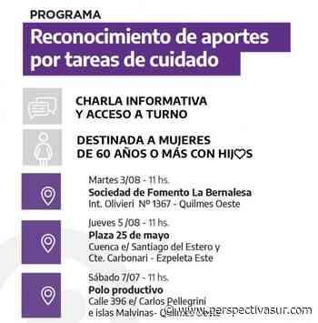 Tareas de cuidado: Comienza operativo especial en el Polideportivo municipal de Quilmes - Perspectiva Sur