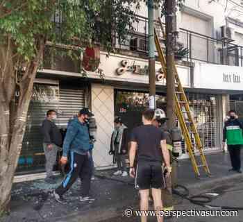 Tercer incendio en menos de 24hs en Quilmes: Ahora el turno de un comercio - Perspectiva Sur