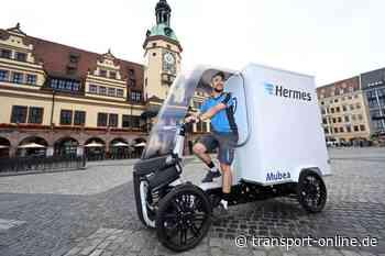 Hermes: Test des Mubea-E-Cargobike in Leipzig - Transport - Die Zeitung für den Güterverkehr