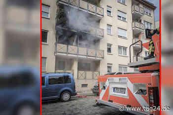 Gaskocher in Leipzig explodiert: Drei Personen bei Balkonbrand verletzt - TAG24