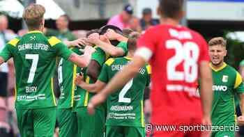 Erster Saisonsieg: Chemie Leipzig gewinnt beim ZFC Meuselwitz - Sportbuzzer