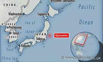 Olympics earthquake: Magnitude-6 tremor strikes off the coast of Tokyo