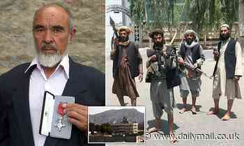 His father won the MBE... but this loyal Afghan is denied sanctuary in Britain