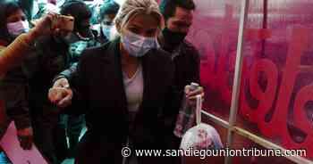 Amplían a un año detención de expresidenta Añez en Bolivia - San Diego Union-Tribune en Español