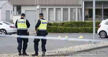 Tres heridos en tiroteo en ciudad del sur de Suecia - San Diego Union-Tribune en Español