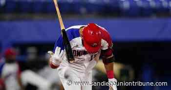 José Bautista enseña el 'bat-flip' en el béisbol olímpico - San Diego Union-Tribune en Español