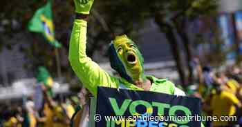 La corte electoral de Brasil toma medidas contra Bolsonaro - San Diego Union-Tribune en Español