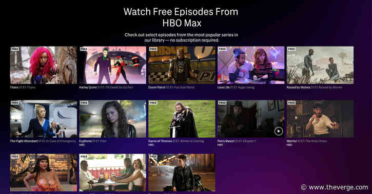 HBO Max looks to woo new subscribers with free episodes