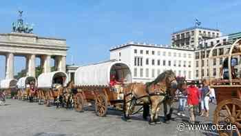 Friedensglocke kommt mit Pferdetreck nach Gera - Ostthüringer Zeitung