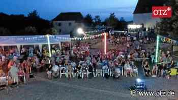 Sommerkino im Schlosshof in Ronneburg - Ostthüringer Zeitung