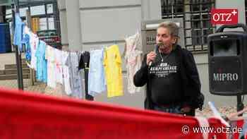Montagsdemos in Gera: 17 Jahre ohne Unterbrechung - Ostthüringer Zeitung