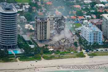 Surfside condo collapse: First-responder video shows devastation of Champlain Towers collapse up close