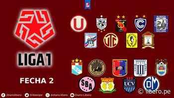 Liga 1: Universitario ganó y así quedó la tabla de posiciones tras la fecha 2 - Libero.pe