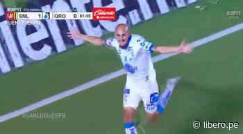 San Luis vs. Querétaro: Sosa anotó el 1-1 para los 'Gallos' - Libero.pe