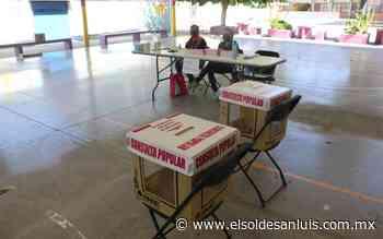 Faltó promoción del INE para Consulta Popular - El Sol de San Luis