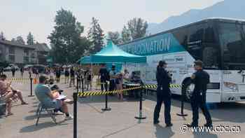 Vaccines on the go: Mobile clinic tours Alberta with COVID-19 shots