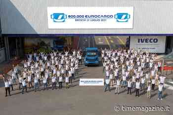 Iveco, 600.000esimo Eurocargo prodotto nello stabilimento di Brescia - Time Magazine