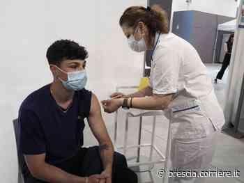 Covid, a Brescia metà dei teenagers vaccinati con una dose: il 70% entro settembre - Corriere della Sera