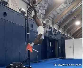 Air Monf: An appreciation of Gael Monfils' epic, uncontested dunk - Tennis Magazine