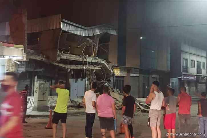 Sin lesionados: colapsó parte de un centro comercial en Guatire - El Nacional