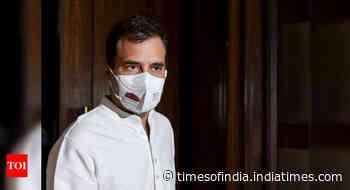 Rahul Gandhi meets family of minor girl raped, killed in Delhi's Nangal