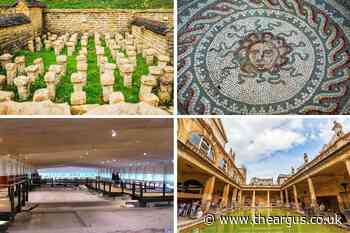 Two Sussex palaces named best Roman sites in UK