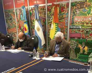 Florencio Varela: convenio entre la UNAJ y el municipio de Berazategui para el avance de mejoras habitacionales - Cuatro Medios