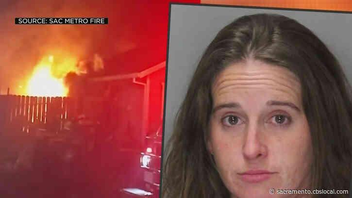 Citrus Heights Woman Captured on Surveillance Video Before Arson Arrest