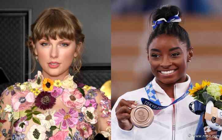 Taylor Swift praises Team USA gymnast Simone Biles