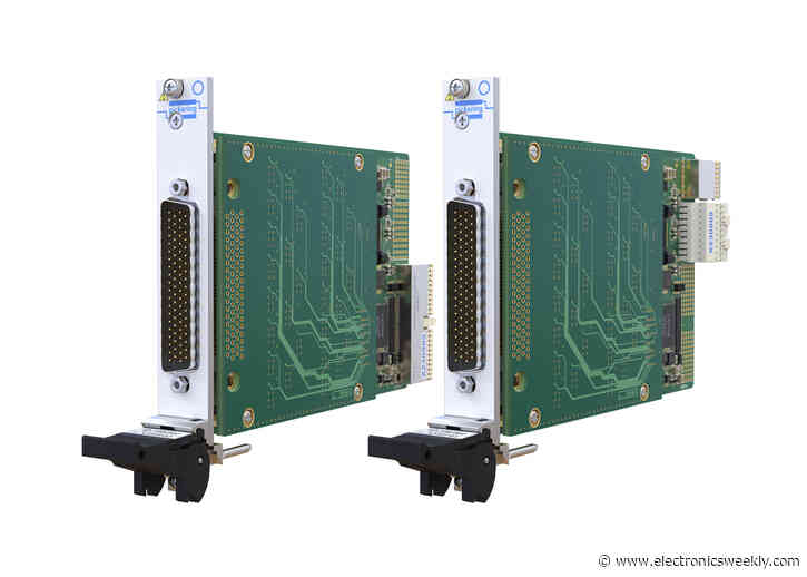 PXI/PXIe multiplexer module for MIL-STD testing