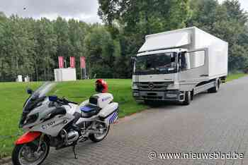 Politie plukt gedrogeerde vrachtwagenchauffeur uit het verkeer