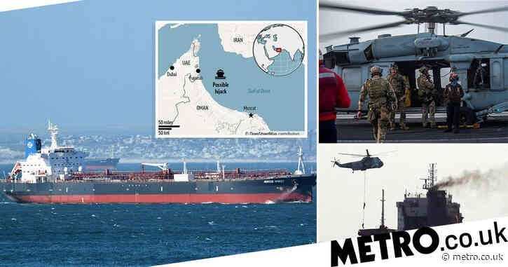 'Hijacking' of oil tanker off coast of UAE is over, says British military
