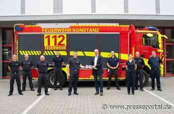 FW Konstanz: OB besucht die Einsatzkräfte der Feuerwehr Konstanz des Hochwassereinsatzes in RLP - Presseportal.de