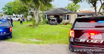 Police: Vehicle slams into home following brief high-speed chase - KRIS Corpus Christi News